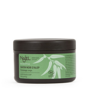Savon noir d'Alep à l'huile essentielle d'eucalyptus NAJEL 180 g