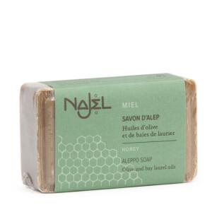 Savonnette d'Alep au miel NAJEL 100 g ultra-doux
