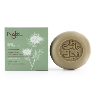 Savonnette d'Alep à l'huile de nigelle NAJEL 100 g