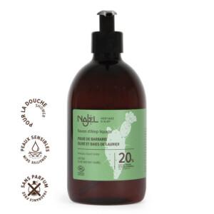 Savon d'Alep liquide 20% huile de figue de Barbarie certifié Cosmos Natural - 500 m