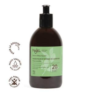 Savon d'Alep liquide 20% HBL certifié Cosmos Organic • 500 ml