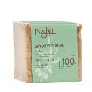 Savon pur olive d'Alep 100% huile d'olive