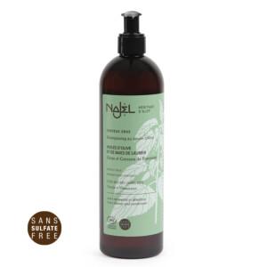 Shampooing au savon d'Alep certifié Cosmos Organic 500 ml cheveux gras