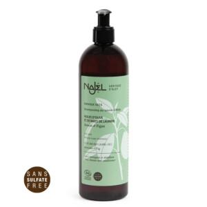 Shampooing au savon d'Alep certifié Cosmos Organic 500 ml - cheveux secs