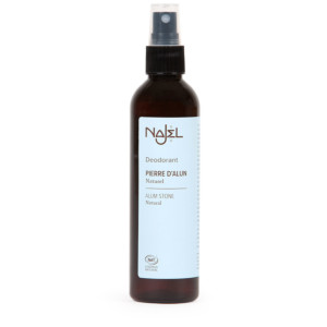 Pierre d'alun liquide en spray NAJEL 125 ml déodorant naturel