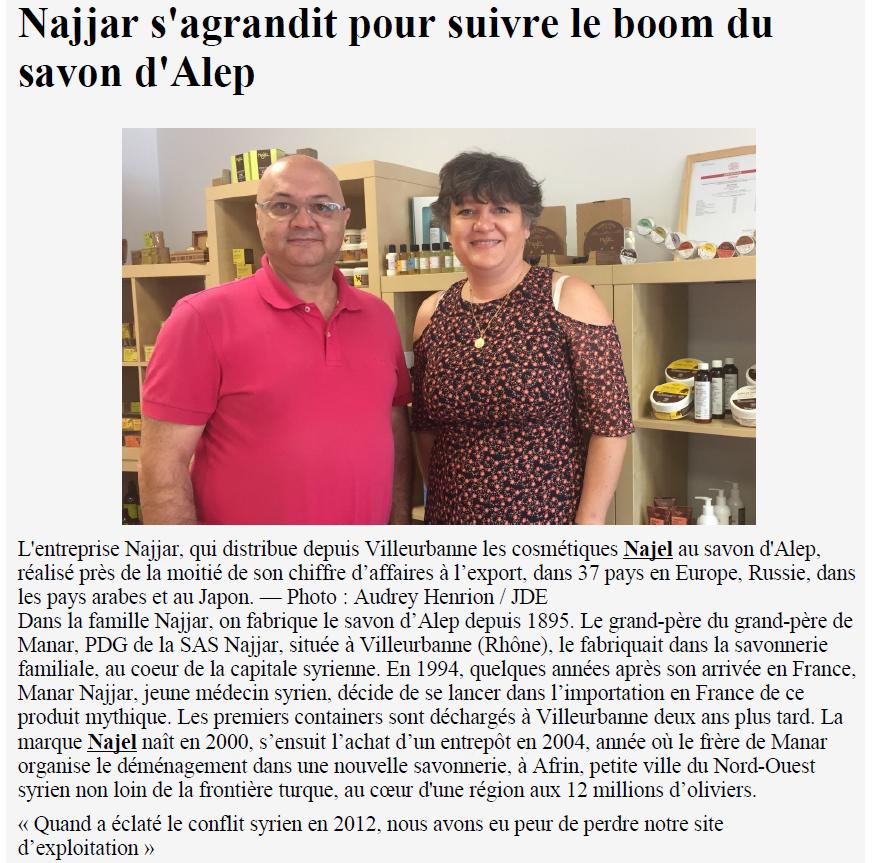 Journal-des-entreprises-sas-najjar-najel-savon-alep